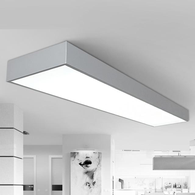 A1 Plafonniers LED Noir et blanc cendres trois bureau plafond