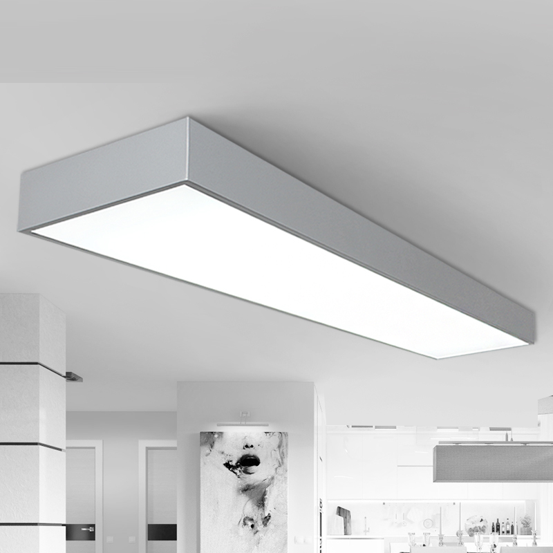 Ceiling Lights LED Black and white ash three office