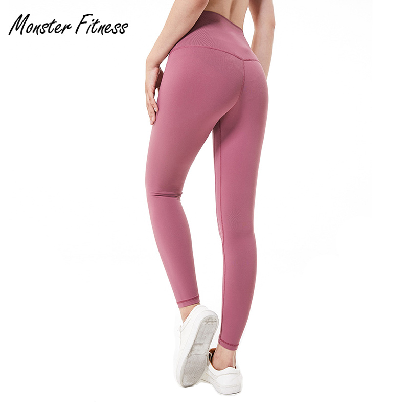 Monster 2018 Autumn Yoga Pants Sport Leggings High Waist Push Up Sexy Running Workout Sport Fitness Gym Leggings For Women women sport leggings 3d print football capris running active sportwear high waist pant sexy slim hip fitness jogger gym jeggings