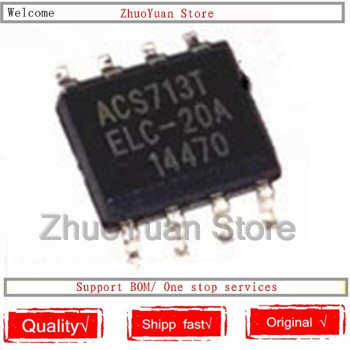 1PCS/lot ACS713TELC-20A ACS713TELC-20 ACS713TELC ACS713TE ACS713 IC Chip New Original