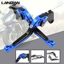 Motorcycle Adjustable Folding Extendable Brake Clutch Lever For suzuki gsxr 750 1996 1997 1998 1999 2000 2001 2002 2003 gsx r750