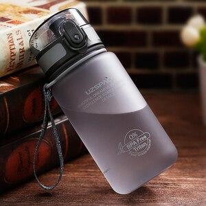 Image 5 - UZSPACE 350ml กีฬาน้ำขวดน่ารักน่ารักเป็นมิตรกับสิ่งแวดล้อมพลาสติก LeakProof คุณภาพสูงทัวร์แบบพกพาเครื่องดื่มของฉันขวด BPA ฟรี