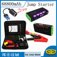 68800mAh Super Quality Multiportable Car Jump Starter Power Bank Car Battery Charger For Petrol Diesel Car