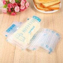 60 шт./лот 250 мл детский пакет для хранения грудного молока грудное молоко матери морозильная камера сумки свежий герметичный мешок для хранения жидких пищевых продуктов