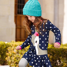 Nova Kids Girl Fashion Girl Blouse Animal Spring Girl T Shirt Long Sleeve Kids Clothes Summer Nova Kids Girl T-shirts