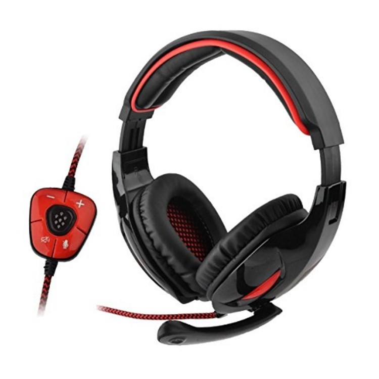 Sades SA-903 7.1 Surround Sound channel USB Gaming Headset Wired Headphone with Mic Volume Control Noise Cancelling Mic Earphone (11)