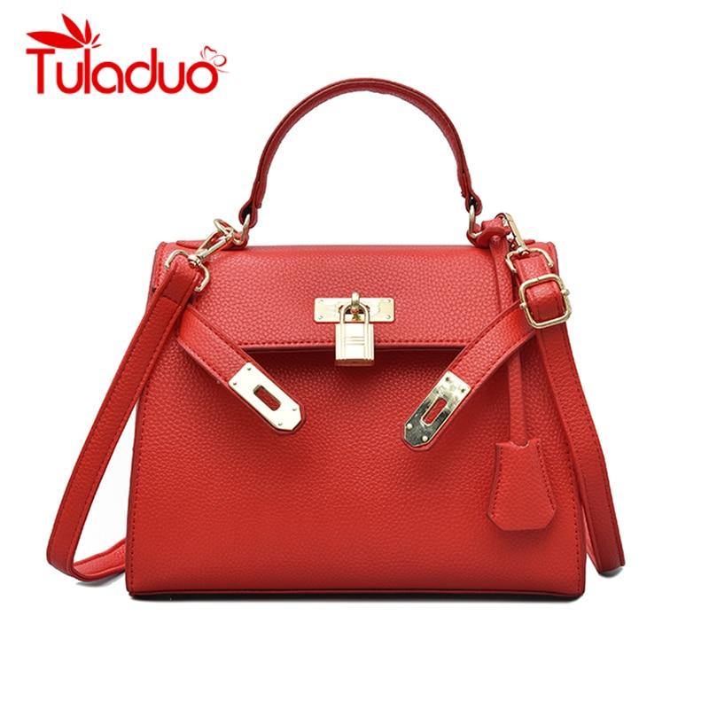 137b277f778e Aliexpress.com   Buy Luxury Handbags Women Bags Designer Lock Crossbody Bags  for Ladies 2018 Famous Brands Leather Tote Bags Elegant Handbag Party from  ...