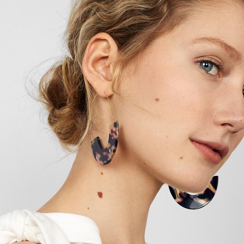 JUJIA Fashion Special Design Multi-color Jewelry Acrylic Dros