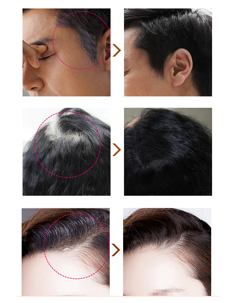 Saç Rengi Boya Crayon Tebeşir Kapak Gri Kök Saç Anında Saç - Saç Bakımı ve Şekillendirme - Fotoğraf 2