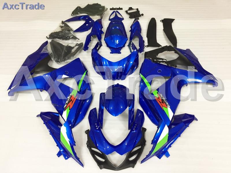 Motorcycle Fairings Kits For Suzuki GSXR GSX-R 1000 GSXR1000 GSX-R1000 2009-2015 09 - 15 K9 ABS Plastic Injection Fairing Blue custom road fairing kits for suzuki glossy flat black 2006 gsxr 1000 k5 2005 gsx r1000 06 05 motorcycle fairings kit