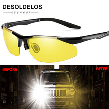 Car Night Vision Driver Goggles Polarized Sunglasses Unisex HD Vision Sun Glasses Eyewear UV Protection Car Driving Glasses axiom car vision 1100