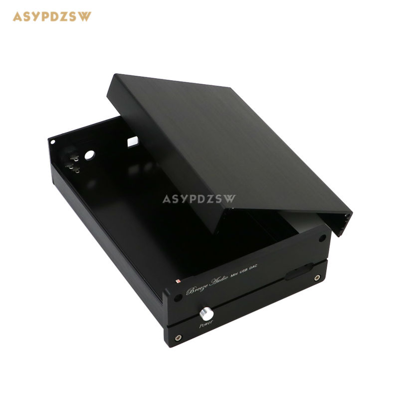 Full aluminum CS8416 CS4398 DAC Dedicated Chassis 1506 DAC case DIY box 3206 amplifier aluminum rounded chassis preamplifier dac amp case decoder tube amp enclosure box 320 76 250mm