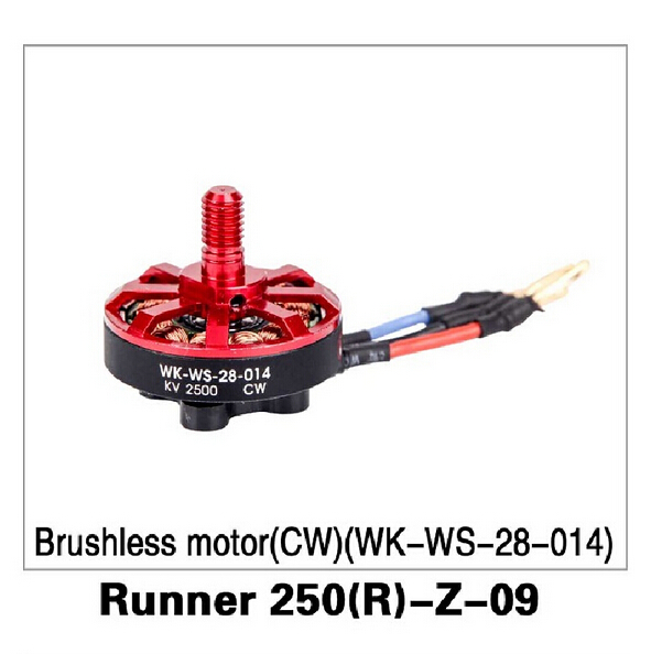 Walkera Runner 250 Advance drone Accessory parts Brushless motor(CW )(WK-WS-28-014) Runner 250(R)-Z-09 F16490