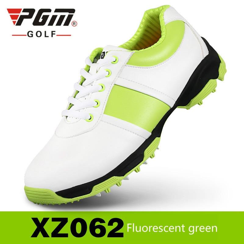 Sapatos de Golfe de Couro sem Picos Sapatos de Golfe à Prova Pgm para Mulheres Novas Genuína Ultra Macio Super Respirável d' Água 2020 Mod. 174582