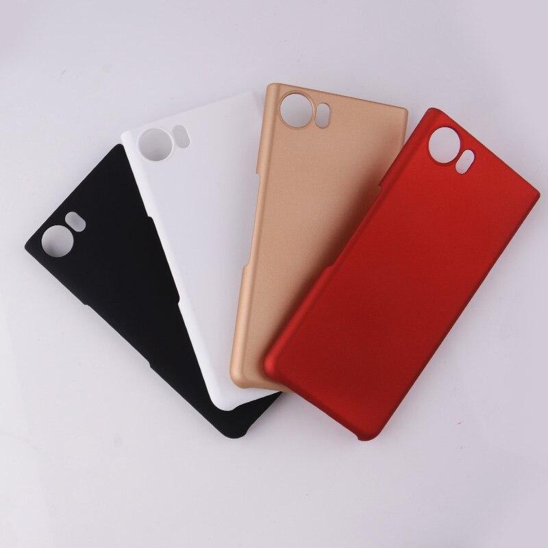 Для blackberry keyone, эбонита назад кожа матовая чехол для blackberry keyone dtek70 (4.5 ) ультра тонкий Пластик телефон В виде ракушки hc01