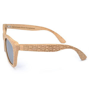 Image 4 - BOBO BIRD Brand Retro Bamboo Sunglasses Women And Men With Silver Polarized Lens Glasses As Best Mens Luxury Gifts C DG06a