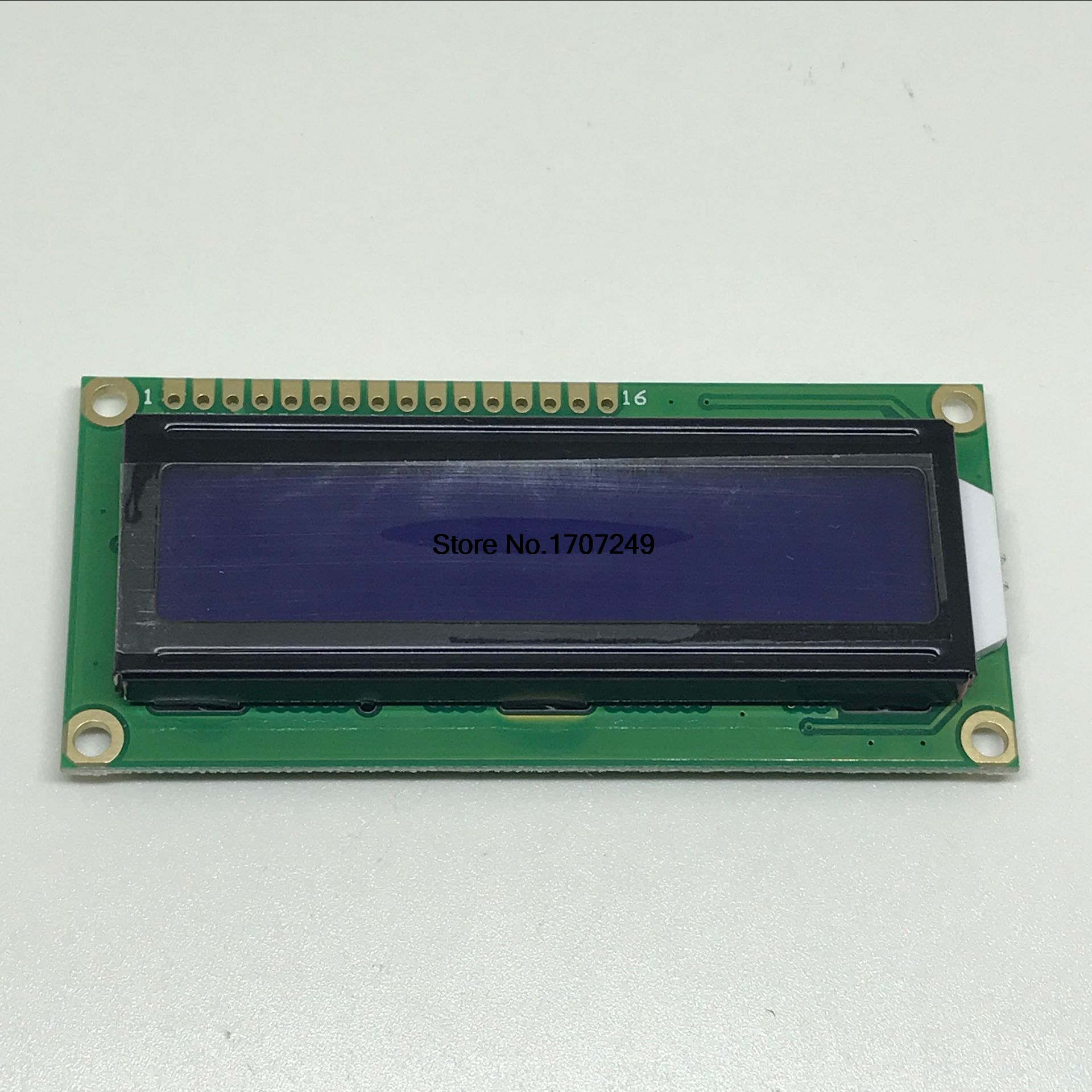 Free Shipping 1pcs LCD1602 LCD monitor 16x2 Character LCD Display <font><b>Module</b></font> 1602 5V blue screen and white code for arduino image