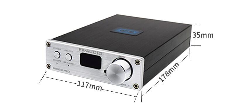 FX-Audio D802C Wireless Bluetooth Versioni i hyrjes USB / AUX / - Audio dhe video në shtëpi - Foto 6