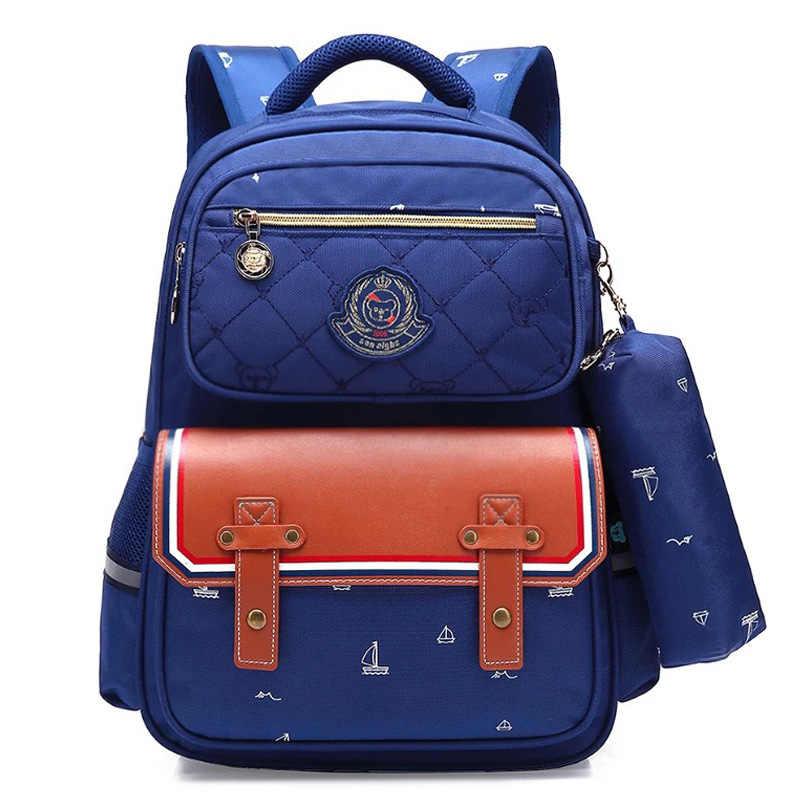 Sol ocho ortopédico moda niños mochila escolar mochilas escolares para niñas mochila impermeable niños mochila escolar mochila infantil