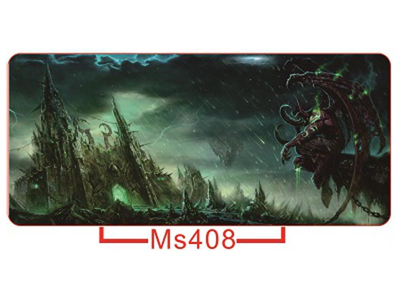 Rubber MS408 Gaming Mouse Pad Smooth Surface Computer Mat Mice Pad XL Large Size 700*400*3mm