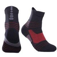 Elite Socks 2018 New High Quality Brand Socks Coolmax Compression Durable Deodorant Elite Men Socks