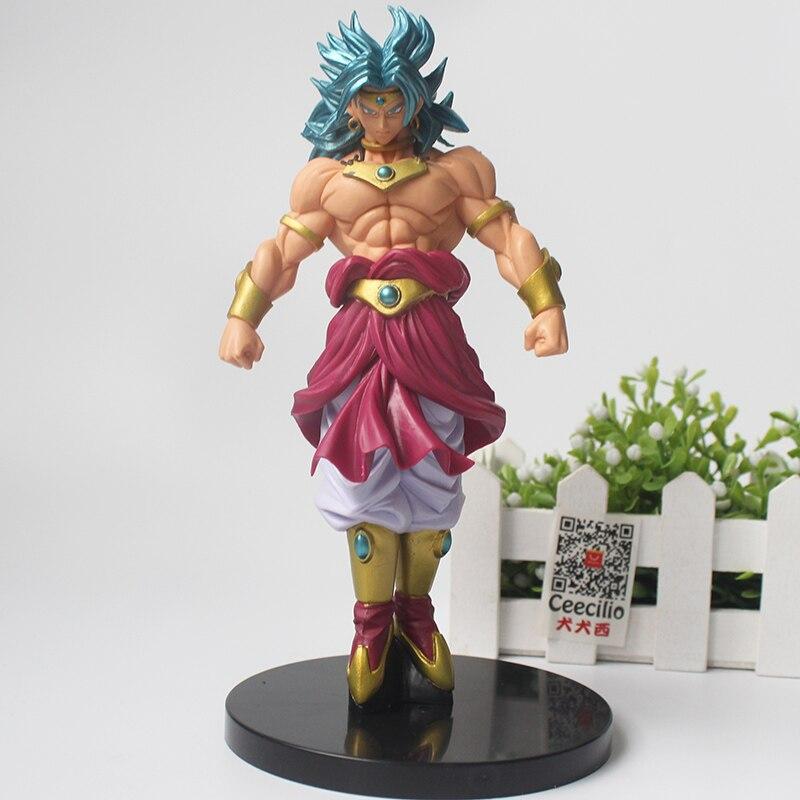 Dragon Ball Z Broly pvc Figurine Super Saiyan blue Broli Collection Model  Figure 20CM figurine