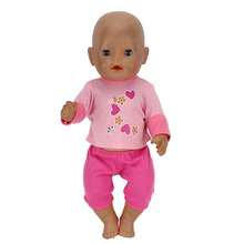 10 Styles Choose Doll Clothes Fit For 43cm baby Doll clothes reborn Doll Accessories