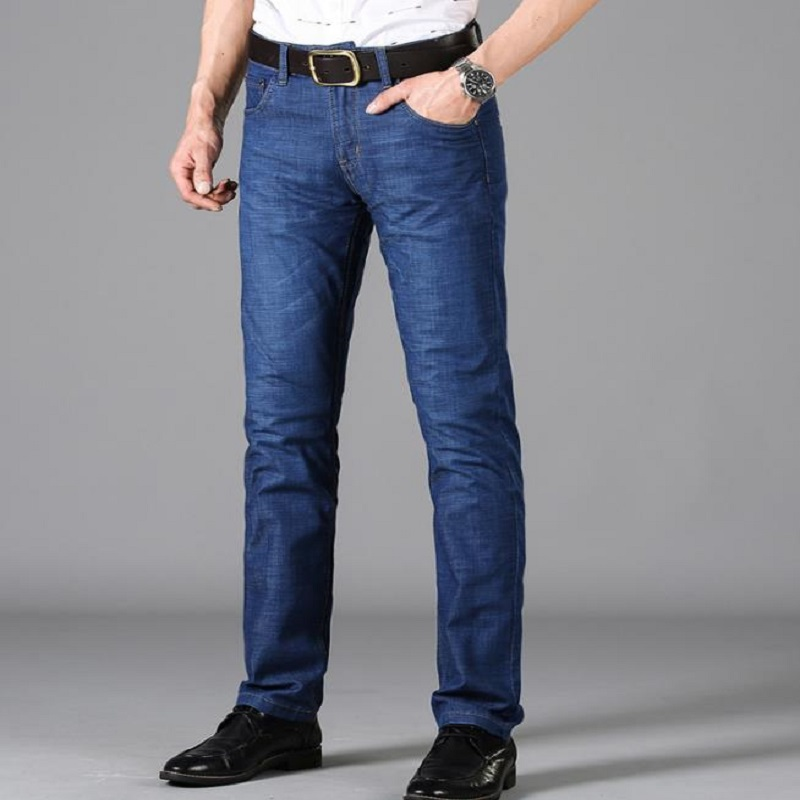 2018 NEW ECTIC Men's jeans. Spring and autumn leisure men's jeans. L 88129
