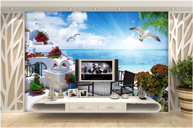 Online Shop Custom mural 3d room wallpaper Landscape The Greek