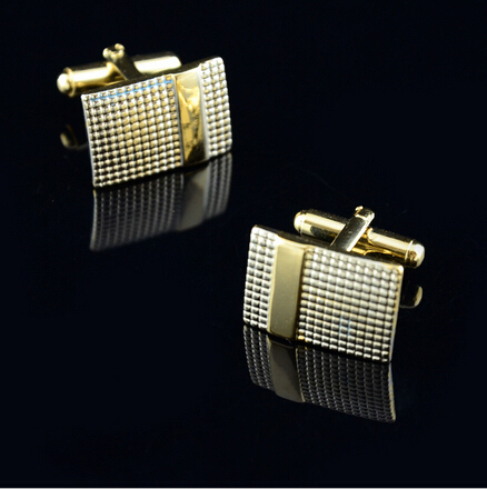 Stainless Steel Tie Clips Cufflinks Men's Jewelry Gold Plating Metal Necktie Bar Clasp