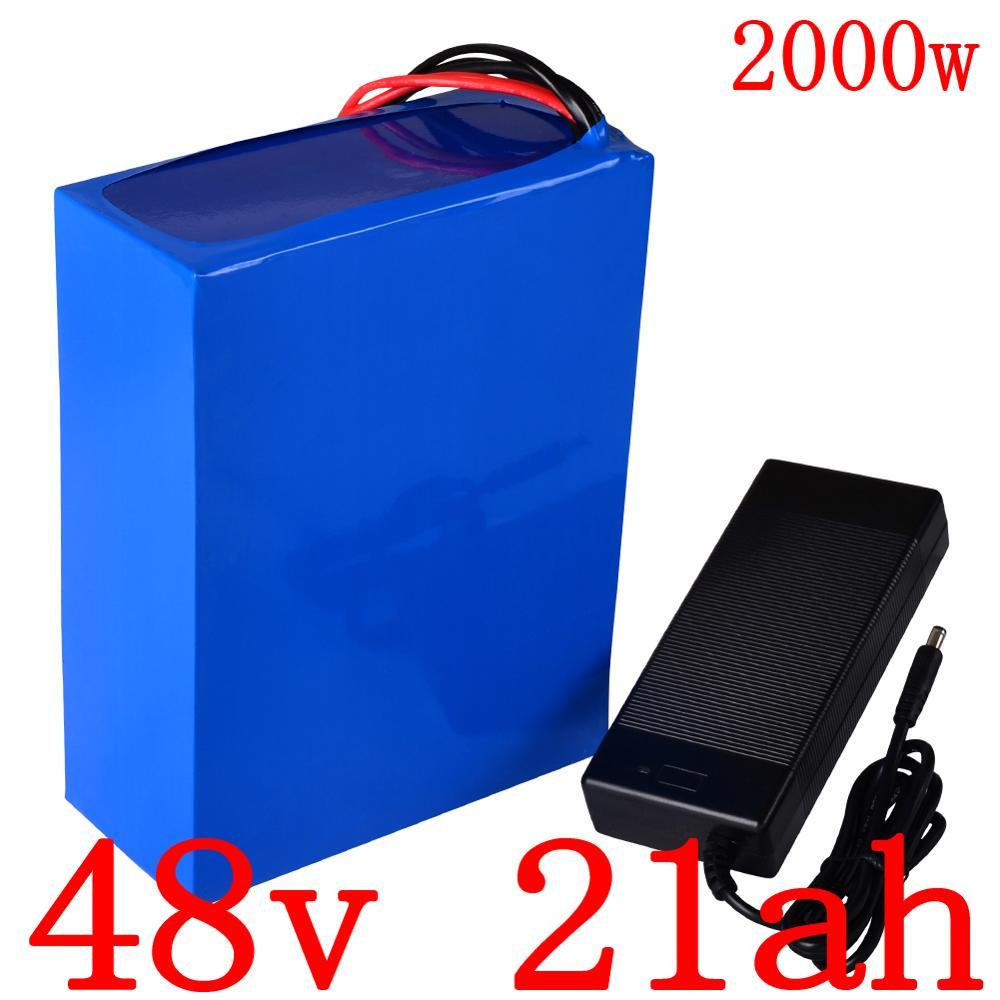 48V elektrikli velosiped batareyası 48V 1000W 2000W elektrikli - Velosiped sürün - Fotoqrafiya 1