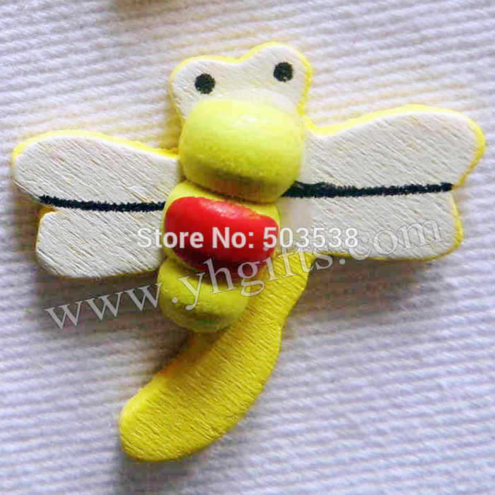 100PCS/LOT.Dragonfly stickers,2.8cm.Kids toys,scrapbooking kit,Early educational DIY.Kindergarten crafts.Classic toys
