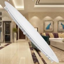 Ultra ince LED Downlight PANEL AYDINLATMA yuvarlak AC85 265V 3W 6W 9W 12W 15W 18W oturma odası, mutfak yatak odası fuaye LED PANEL AYDINLATMA