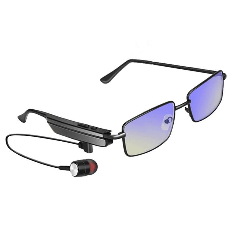 Fashion A6 Bluetooth 4.1 Earphone Sunglasses Wireless Bluetooth Headphones Sports Stereo Monaural Music Hands-free Headset