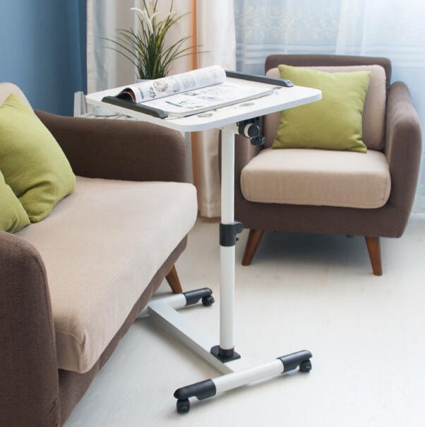 Movable Computer Desk Adjustable Laptop Desk Lazy Desk Bedside Lifting Table For Bed Sofa