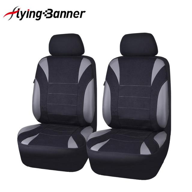 Flying Banner New Arrival 2 Front Auto Seat Cover Universal Car Styling Seat Covers Neoprene Waterproof Car-Cover