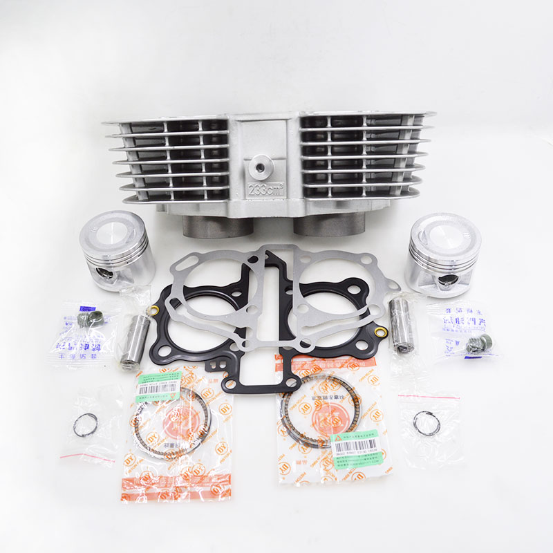 High Quality Motorcycle Cylinder Kit For Honda CBT250 CA250 Rebel CMX250 DD250 CBT CA CMX DD 250 Engine Spare Parts goofit twin carburetor double carburettor cylinder carb chamber 250cc rebel cmx 250cc cmx250 ca250 cbt250 n090 050