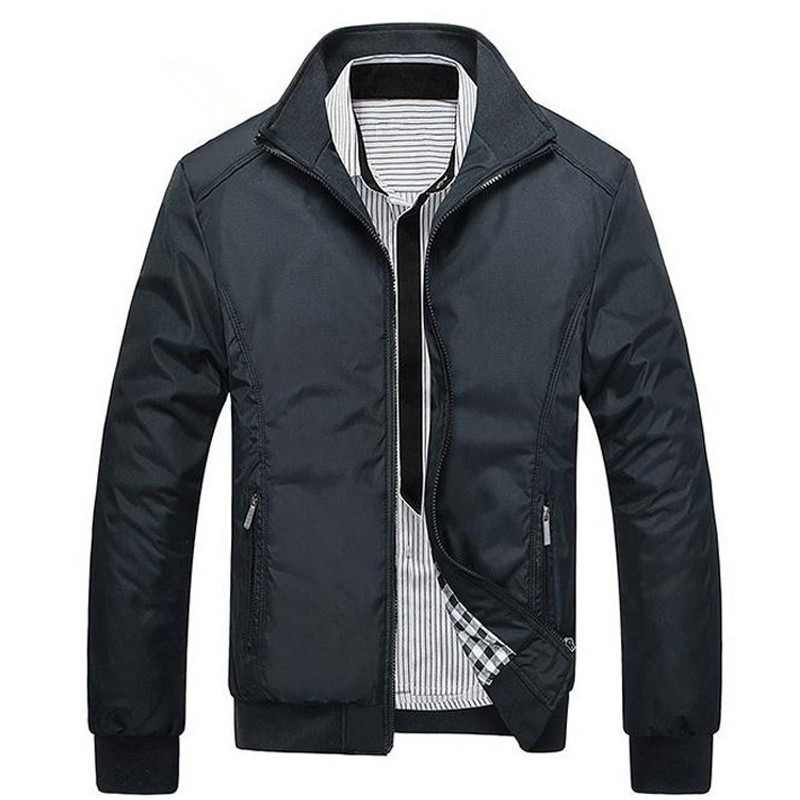 BOLUBAO New Jacket Men Fashion Loose Mens Jacket Sportswear Bomber Jacket Mens Casual Jackets Coats Male
