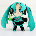 27 см аниме хацунэ мику VOCALOID плюшевые игрушки рисунок куклы с лукабатуна fistulosum L милые куклы подарок для детей