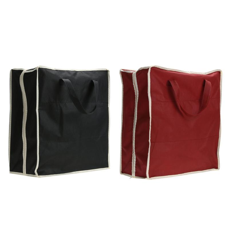Hot Sale Portable Shoe Storage Bags Rack Storage Square Bag Non-woven Fabric 6 Grids Shoe Case Travel Anti Dust Shoes Organizer