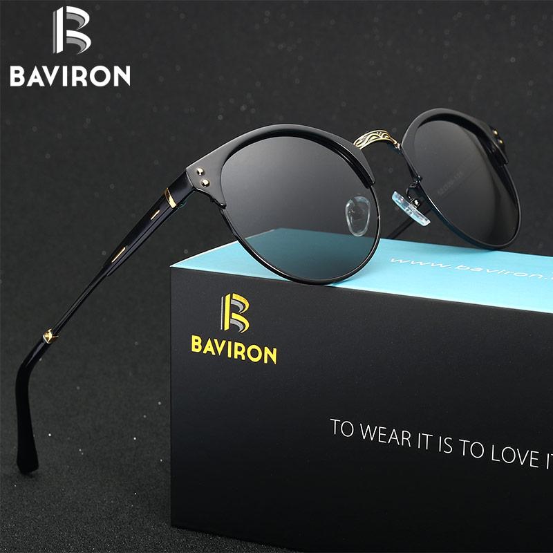BAVIRON 2017 Retro Classic Sunglasses Mas