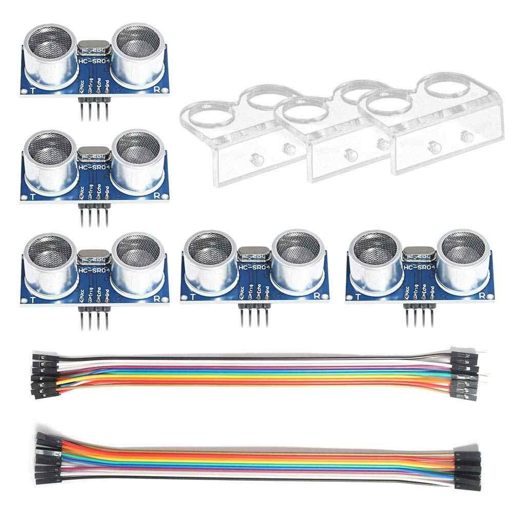 Sensor ultrassônico módulo HC-SR04 sensor de distância com suporte de montagem para arduino uno mega r3 mega2560 rapsberry pi 3