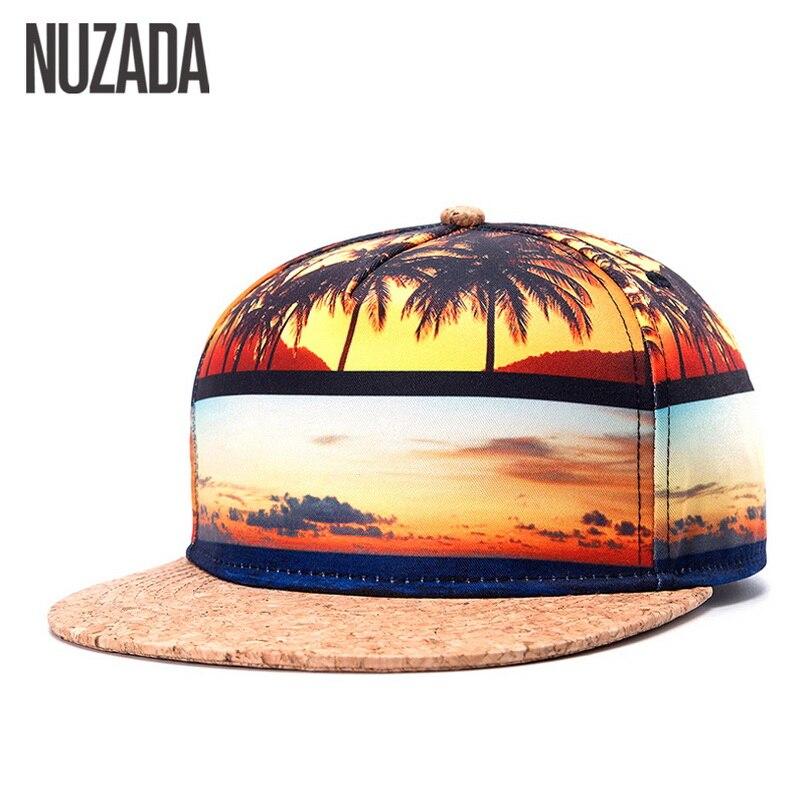 Marca NUZADA Snapback 4 colores verano otoño gorras de béisbol para hombres  mujeres par de sombreros de corcho Hip Hop Calidad Algodón costura gorra en  ... e640726c4c6