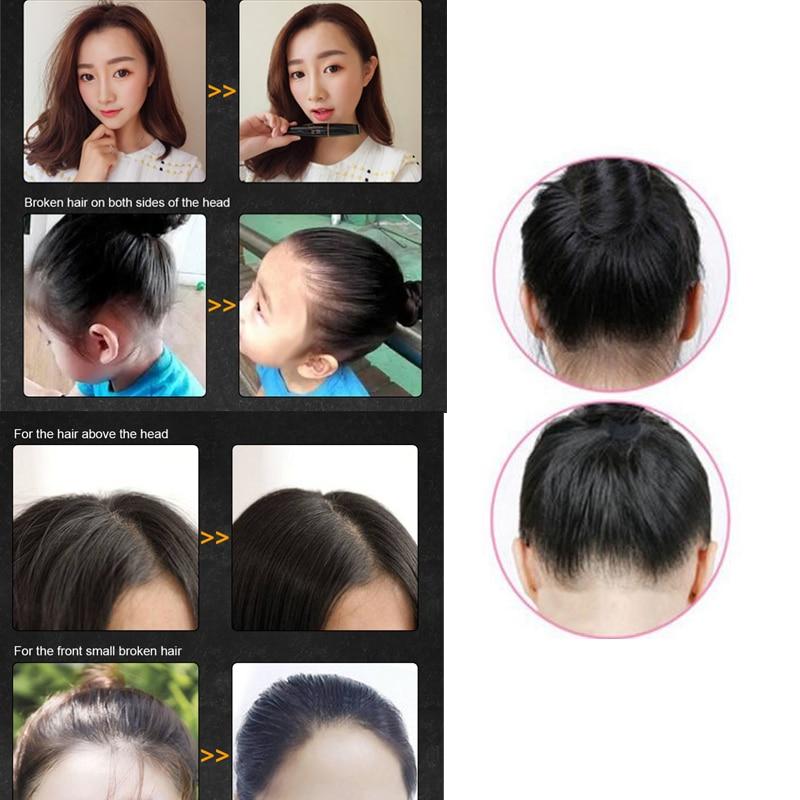 Купить с кэшбэком 2019 Hot New Fashion Hair Finishing Bar Fixed Bangs Stereotypes Cream Hair Feel Finishing Stick Hair Styling Tool Anti Frizz