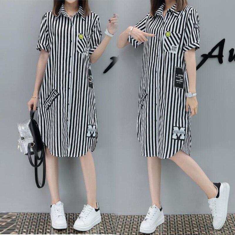 f9760500b Nueva Blusa de maternidad ropa de manga corta blusas primavera verano más  camisas de talla grande ropa de maternidad para mujeres embarazadas 5XL