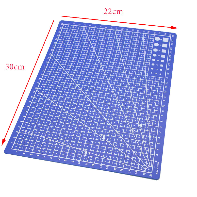the New Student-sided Drawing Tool Template Ruler 30 * 22 Cm, Making Sample Ruler