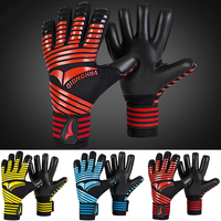 Unisex Soccer Goalkeeper Gloves Men Women Thickened Latex Football Goalie Gloves Children Lightweight Non slip Goal keeper Glove