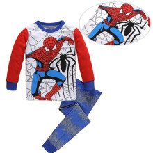 autumn halloween cosplay spiderman boys sleepwear kids set tiny cottons boy pajamas sets boys clothes kids pjs two piece 2 6yrs