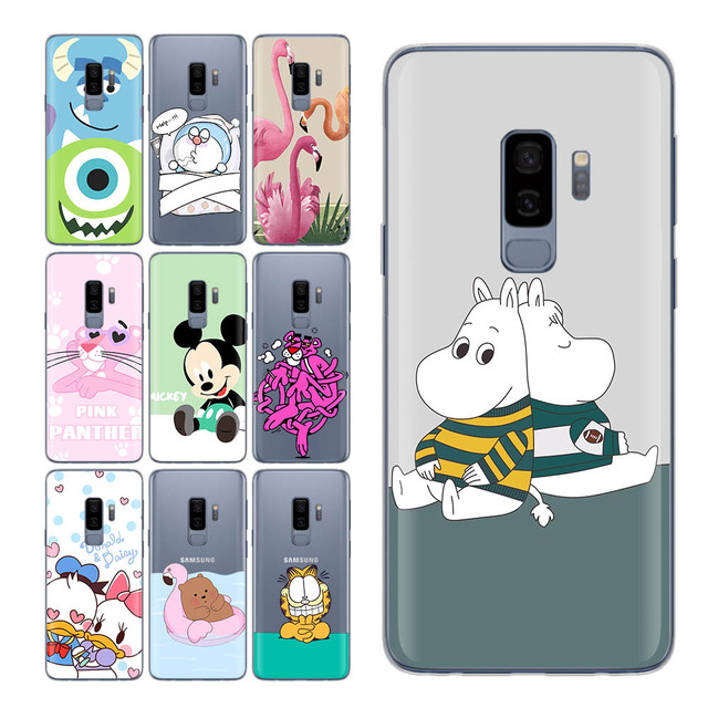 new arrival d3d6f a6316 US $1.07 45% OFF|For Samsung Galaxy S9 case Cute Bear Pink Cat for S9 Case  Cute Duck case for Funda Samsung Galaxy S9 S7 edge S8 Plus S8 S9 Cpque-in  ...