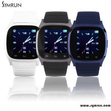 Symrun 2016 Hot M26 Bluetooth Smart Watch wristwatch smartwatch with Dial SMS Remind Anti lost Pedometer